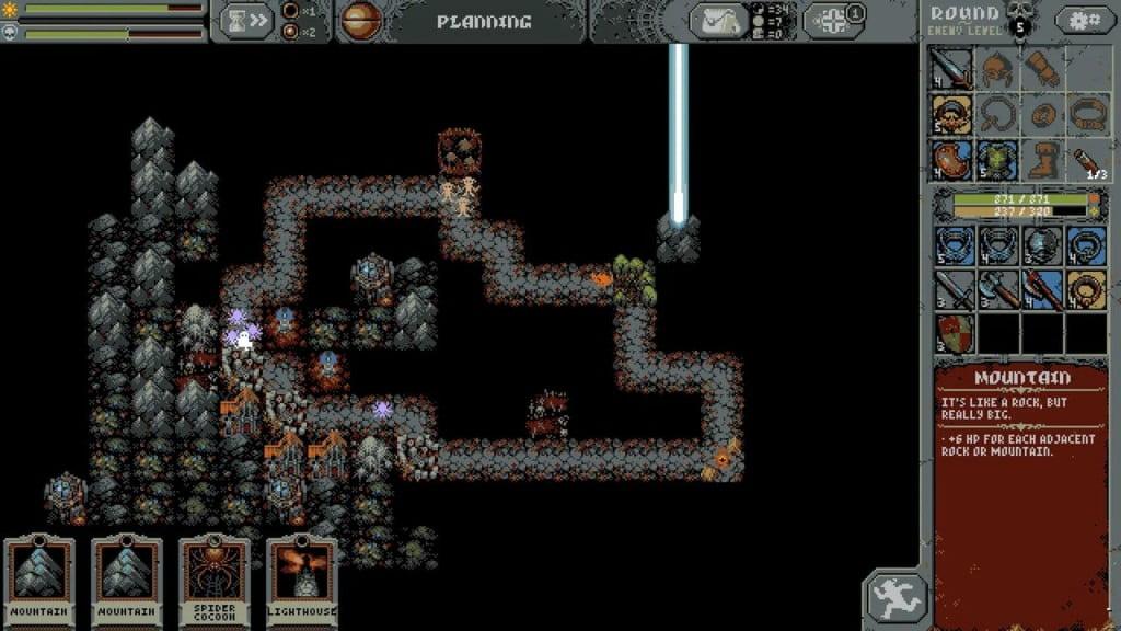A New Pixel Art Game Loop Hero1 1