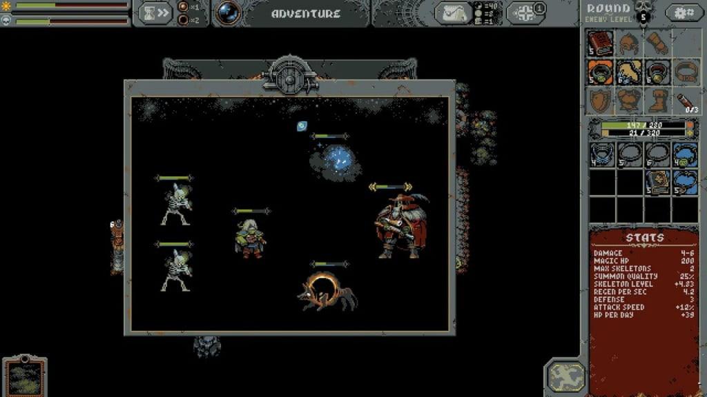 A New Pixel Art Game Loop Hero2 1