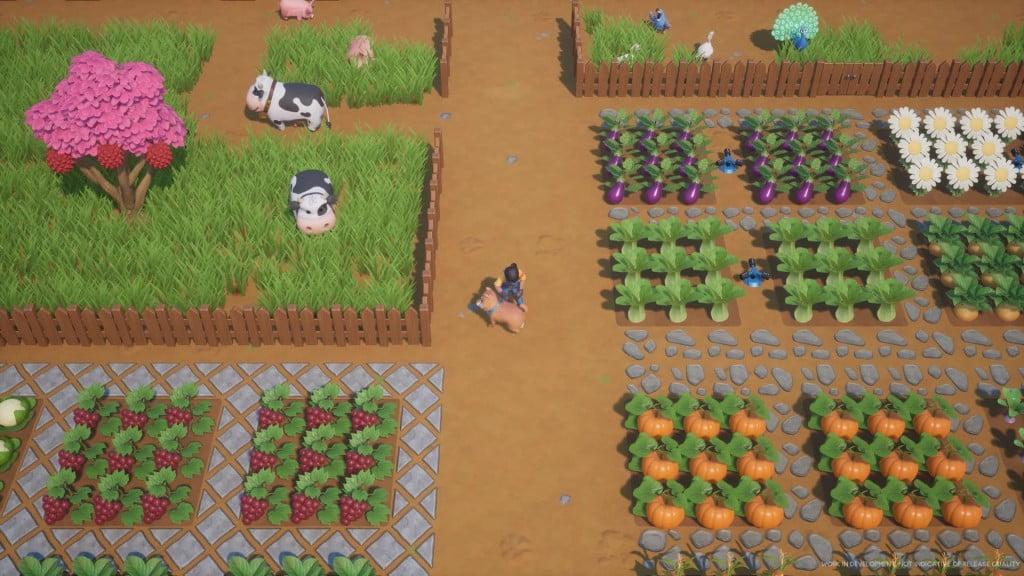 coral island farming
