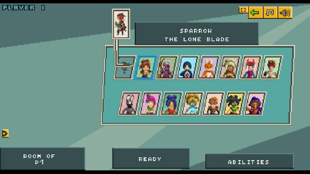 league of pixels characters
