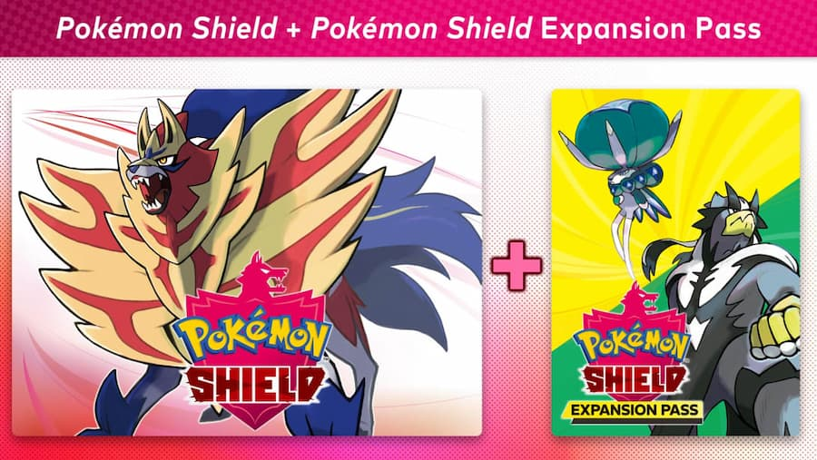 pokemon shield and expansion pass 1