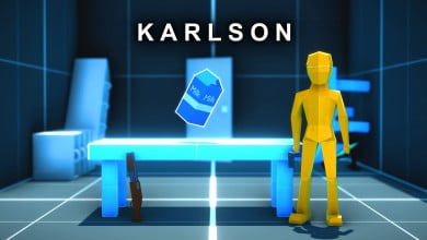 Karlson – The Game That Brings FPS, Parkour, Slowmotion, and Milk Together
