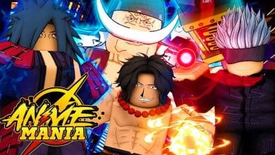 Anime Mania Codes ss 1