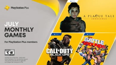 PS Plus Free Games For July 2021