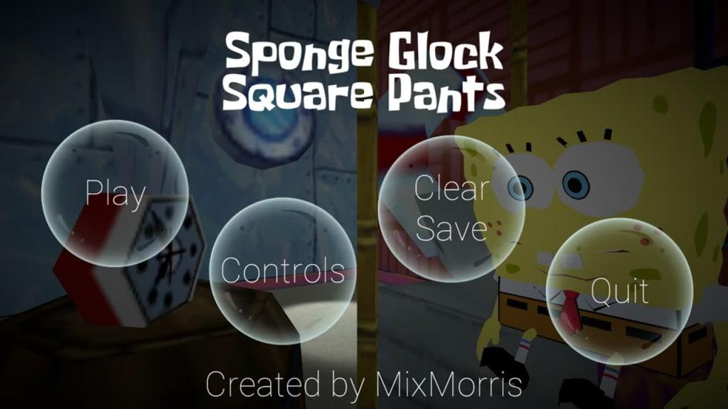 SpongeGlock SquarePants ss