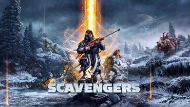 Scavengers Key art with Logo 4K