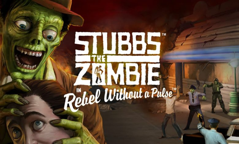Stubbs the Zombie in Rebel Without a Pulse lawod 1